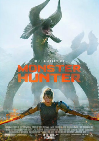 Monster Hunter 2020 WEB-DL 850Mb Hindi Dual Audio 720p