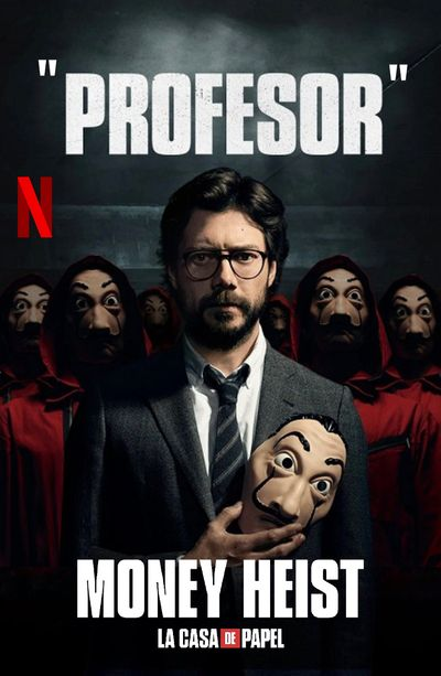 Money Heist (Season 2) WEB-DL Dual Audio [Hindi DD5.1 & English] 1080p 720p 480p x264/10Bit HEVC [ALL Episodes] | NF Series