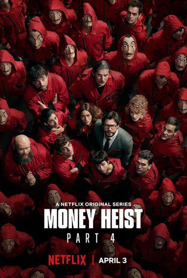 Money Heist (Season 4) WEB-DL Dual Audio [Hindi DD5.1 & English] 1080p 720p 480p x264/10Bit HEVC [ALL Episodes] | NF Series