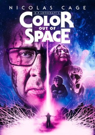Color Out of Space 2020 WEB-DL 400Mb Hindi Dual Audio ORG 480p