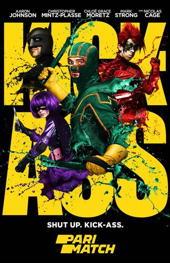 Kick-Ass (2010) BluRay Dual Audio [Hindi (HQ Dubbed) & English] 1080p / 720p / 480p [with ADS!] HD | Full Movie