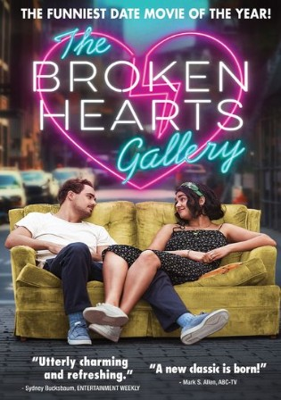 The Broken Hearts Gallery 2020 BluRay 400MB Hindi Dual Audio 480p