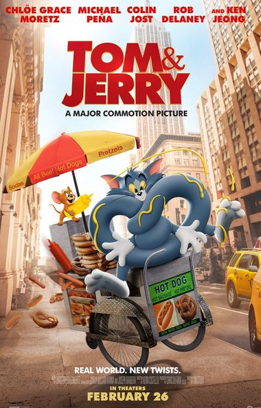 Tom and Jerry (2021) WEB-DL [English DD5.1] 1080p / 720p / 480p [English Subtitles] x264 HD | Full Movie