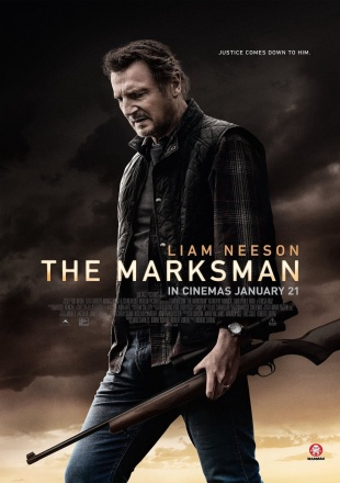 The Marksman 2021 HDCAM 300MB Hindi Dual Audio 480p