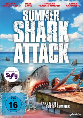 Summer Shark Attack 2016 BluRay 300MB Hindi Dual Audio 480p