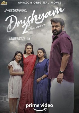 Drishyam 2 2021 WEB-DL 1GB Malayalam 720p ESubs Watch Online Full Movie Download