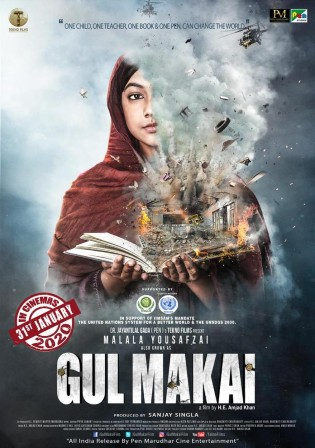 Gul Makai 2021 HDRip 350Mb Hindi Dubbed 480p Watch Online Full Movie Download bolly4u