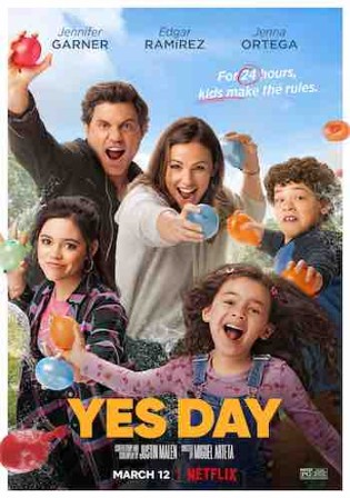 Yes Day 2021 WEB-DL 300Mb Hindi Dual Audio 480p