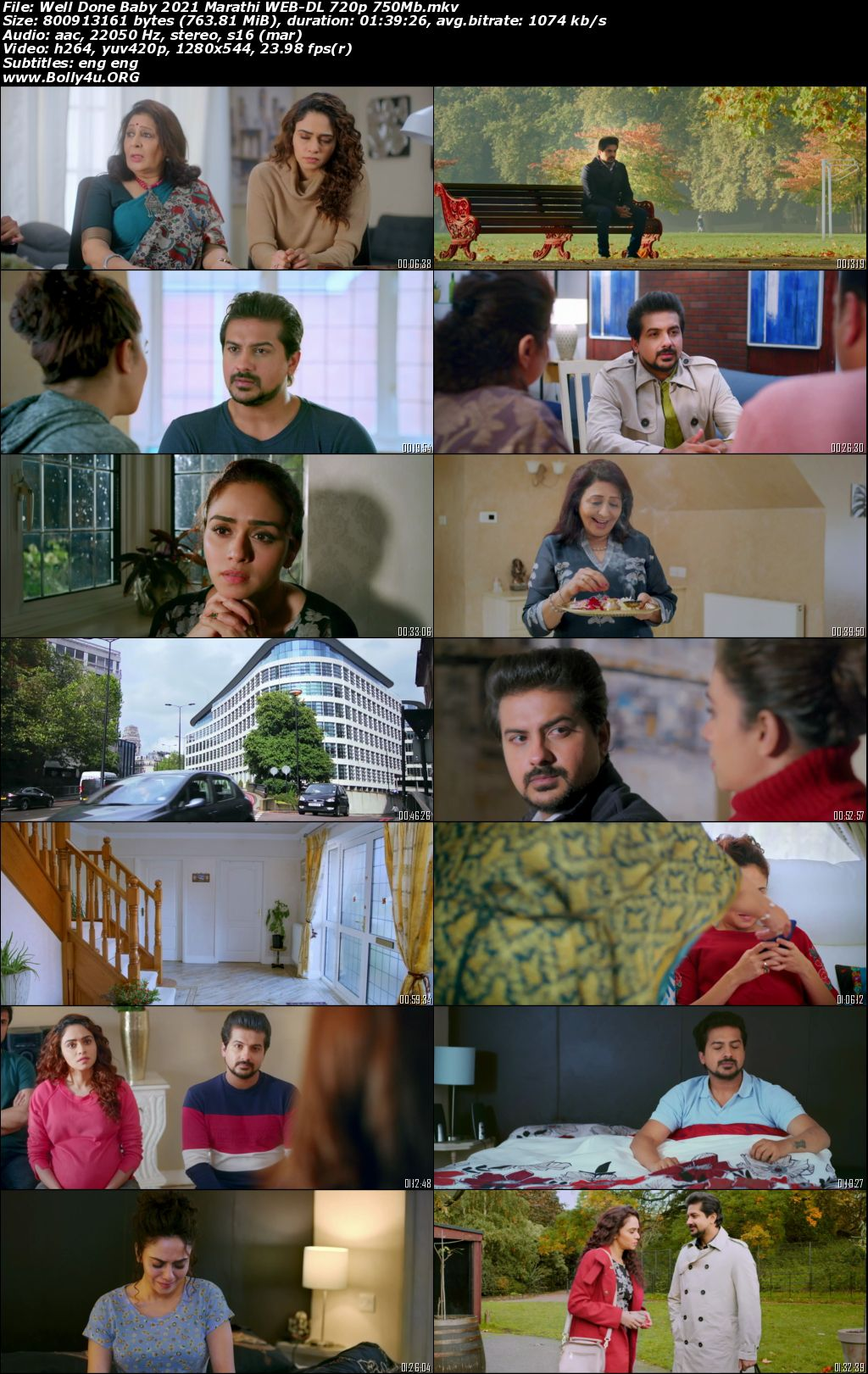 Well Done Baby 2021 WEB-DL 300MB Marathi 480p Download