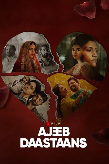 [18+] Ajeeb Daastaans (2021) WEB-DL Hindi DD5.1 1080p 720p 480p x264 HD | Full Movie [NetFlix Film]