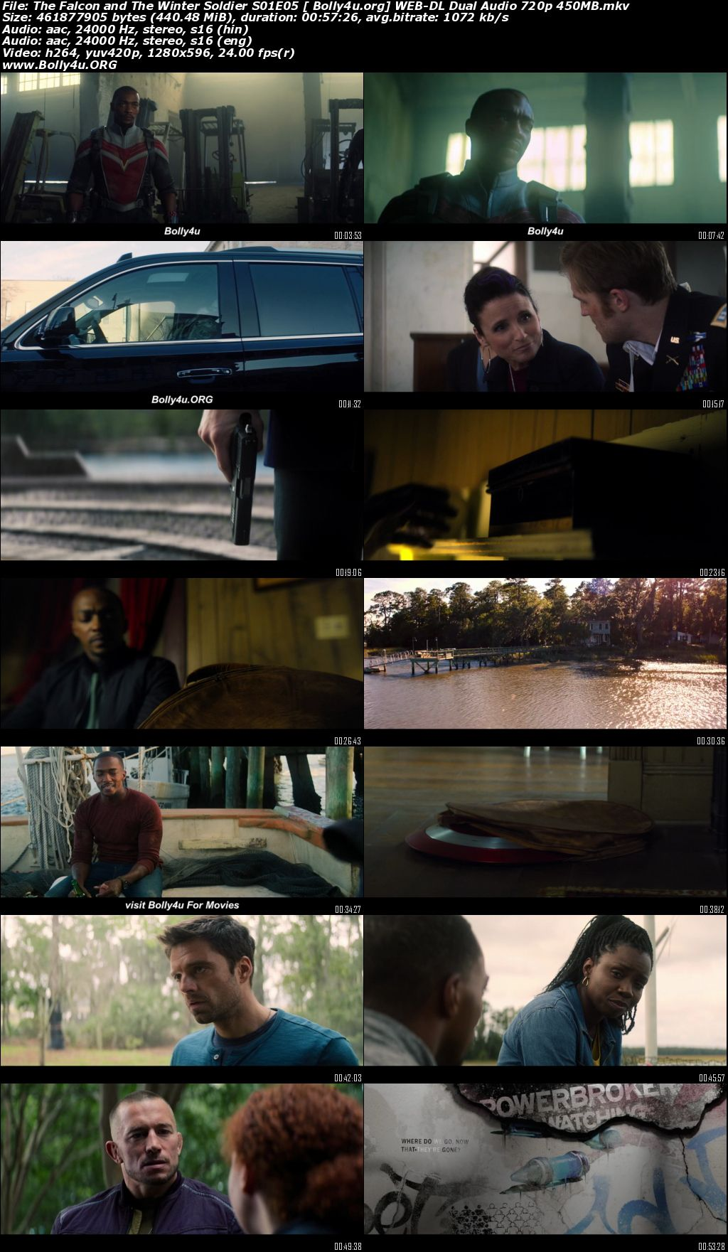 The Falcon and the Winter Soldier 2021 WEB-DL Hindi Dual Audio S01 Download 720p