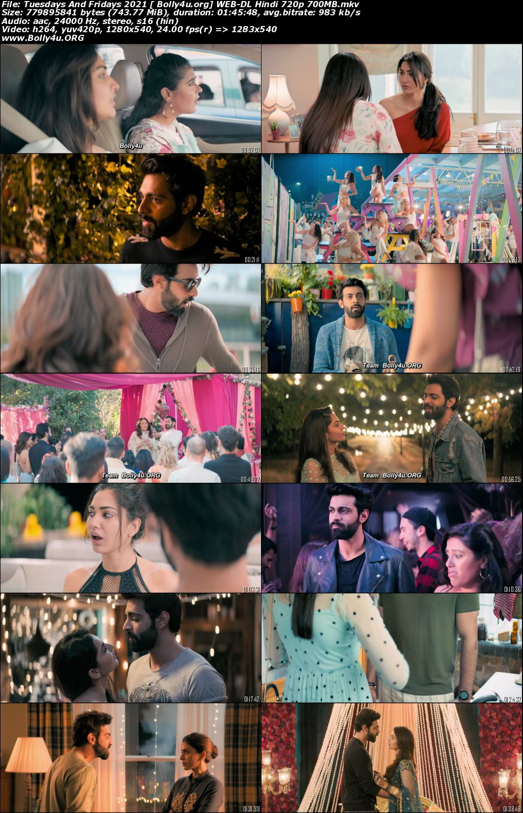 Tuesdays And Fridays 2021 WEB-DL 350Mb Hindi Movie Download 480p