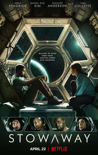 Stowaway (2021) WEB-DL Dual Audio [Hindi DD5.1 & English] 1080p 720p 480p x264 HD | Full Movie [NetFlix Film]