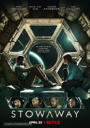 Stowaway 2021 WEB-DL 400MB Hindi Dual Audio 480p Watch Online Full Movie Download bolly4u