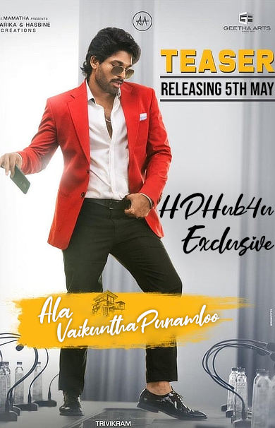 Ala Vaikunthapurramuloo HQ [Hindi Dub Trailer] (2020) Full Movie [PROPER DUB] – 1st May | Exclusive Release By HDHub4u