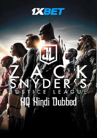 Justice League Snyder Cut 2021 WEBRip 800MB Hindi (HQ) Dual Audio 480p Watch Online Full Movie Download bolly4u