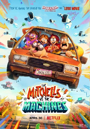 The Mitchells vs The Machines 2021 BluRay 950Mb Hindi Dual Audio 720p