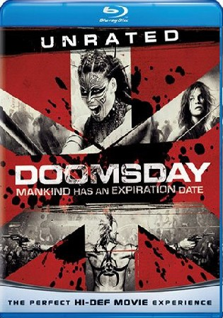 Doomsday 2008 BluRay 300mb UNRATED Hindi Dual Audio 480p
