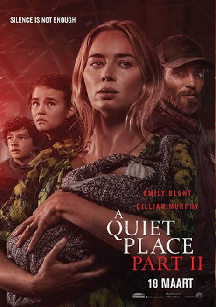 A Quiet Place Part II 2021 HDRip 300Mb English 480p ESubs