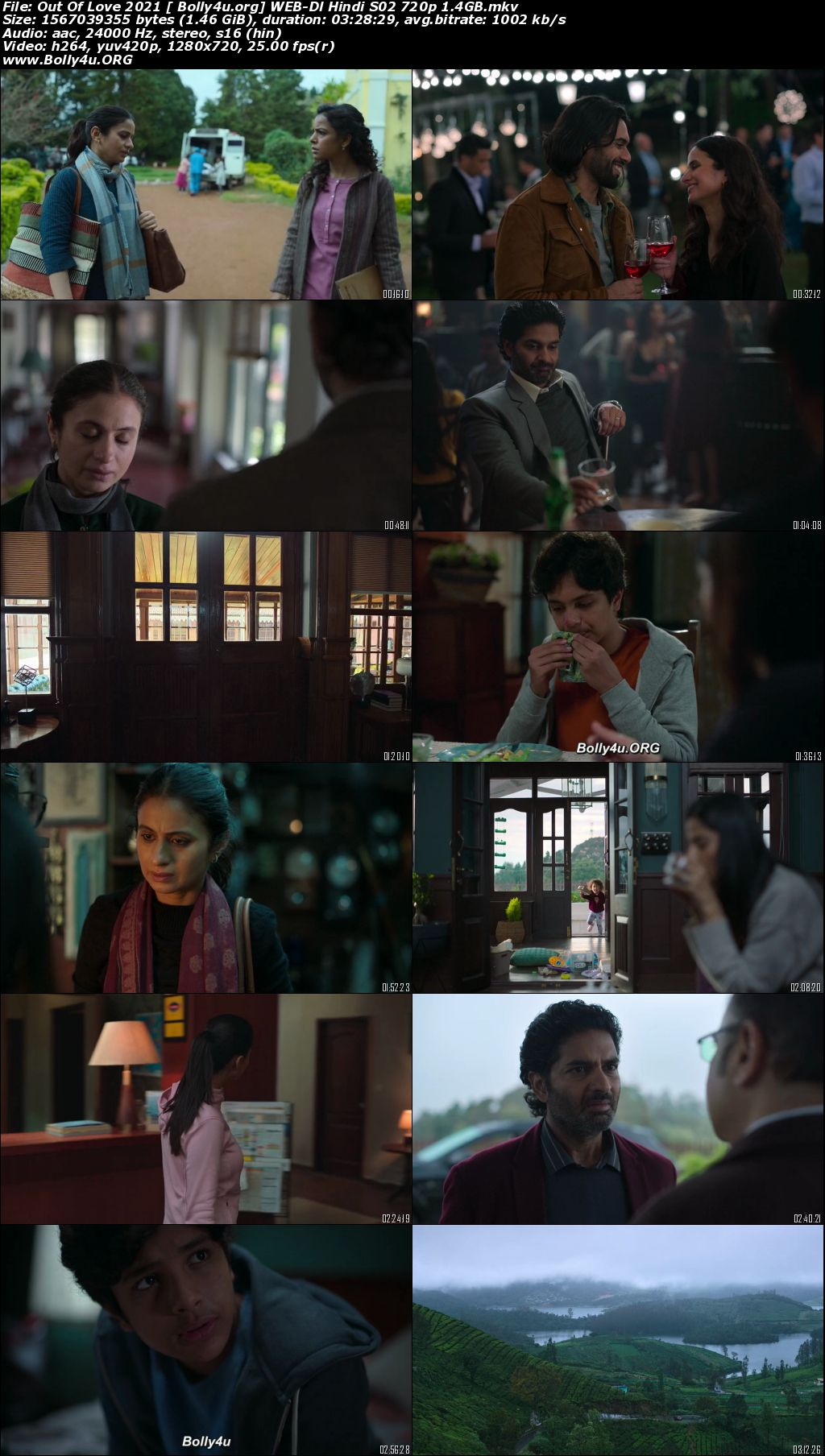 Out Of Love 2021 WEB-DL 1.4GB Hindi S02 Complete Download 720p