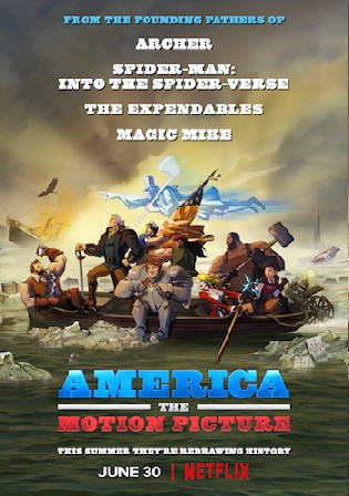 America The Motion Picture 2021 WEB-DL 750Mb Hindi Dual Audio 720p