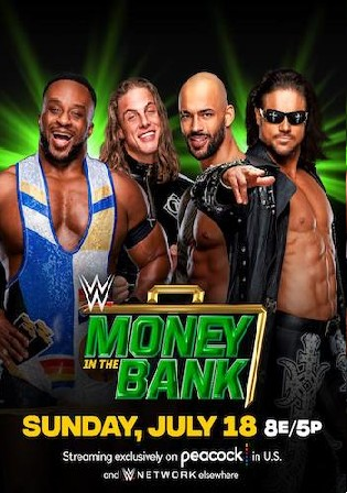 WWE Money In The Bank 2021 PPV WEBRip 800mb 480p
