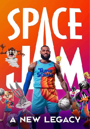 Space Jam A New Legacy 2021 WEB-DL 400Mb Hindi Dual Audio ORG 480p Watch Online Full Movie Download bolly4u