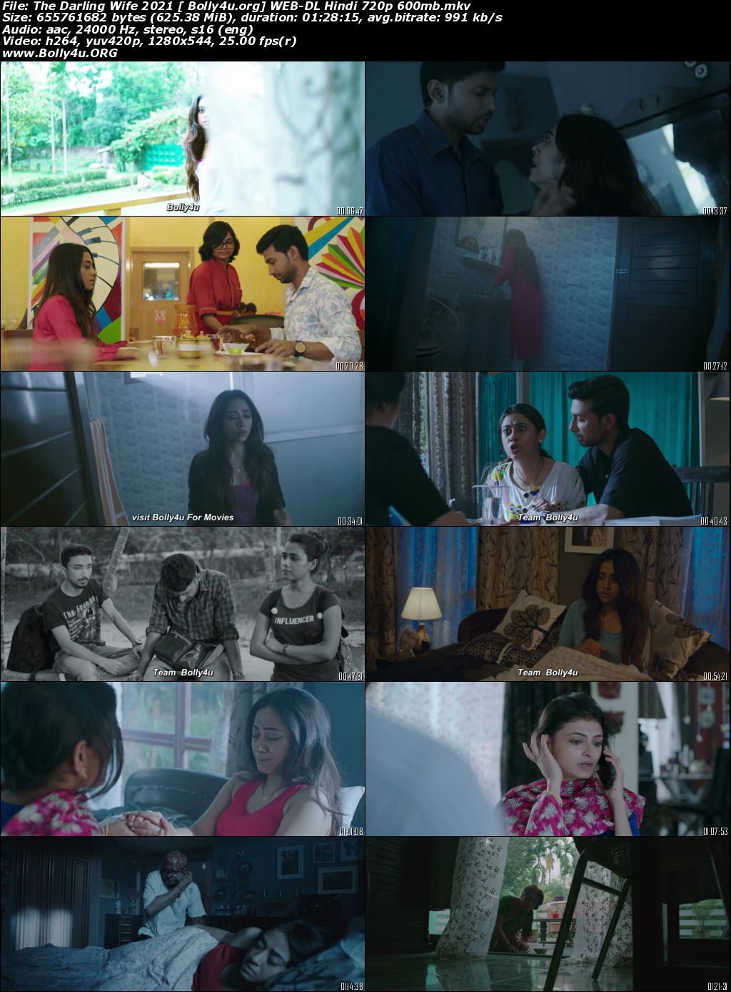 The Darling Wife 2021 WEB-DL 300Mb Hindi Movie Download 480p