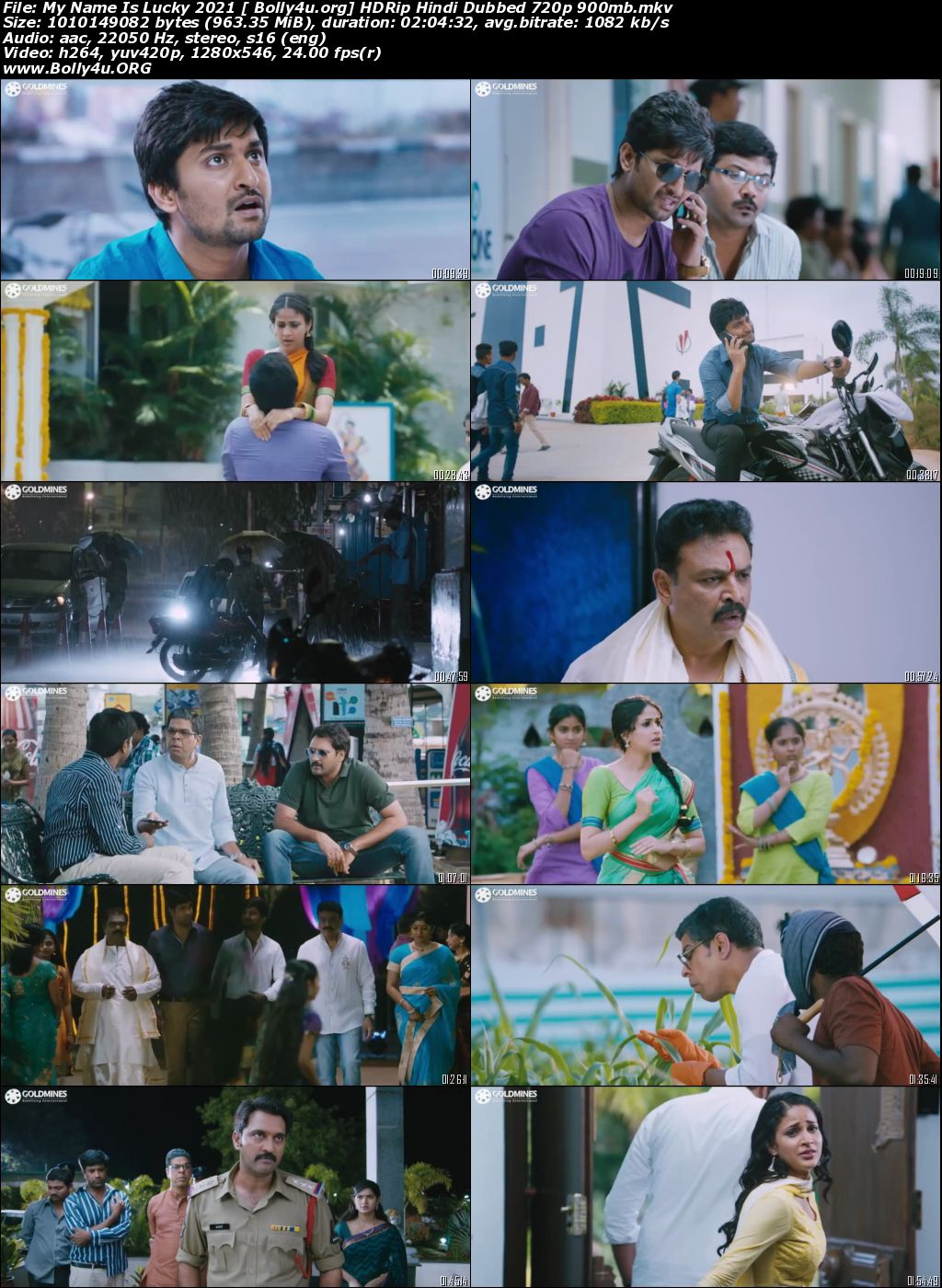 My Name Is Lucky 2021 HDRip 900MB Hindi Dubbed 720p Download