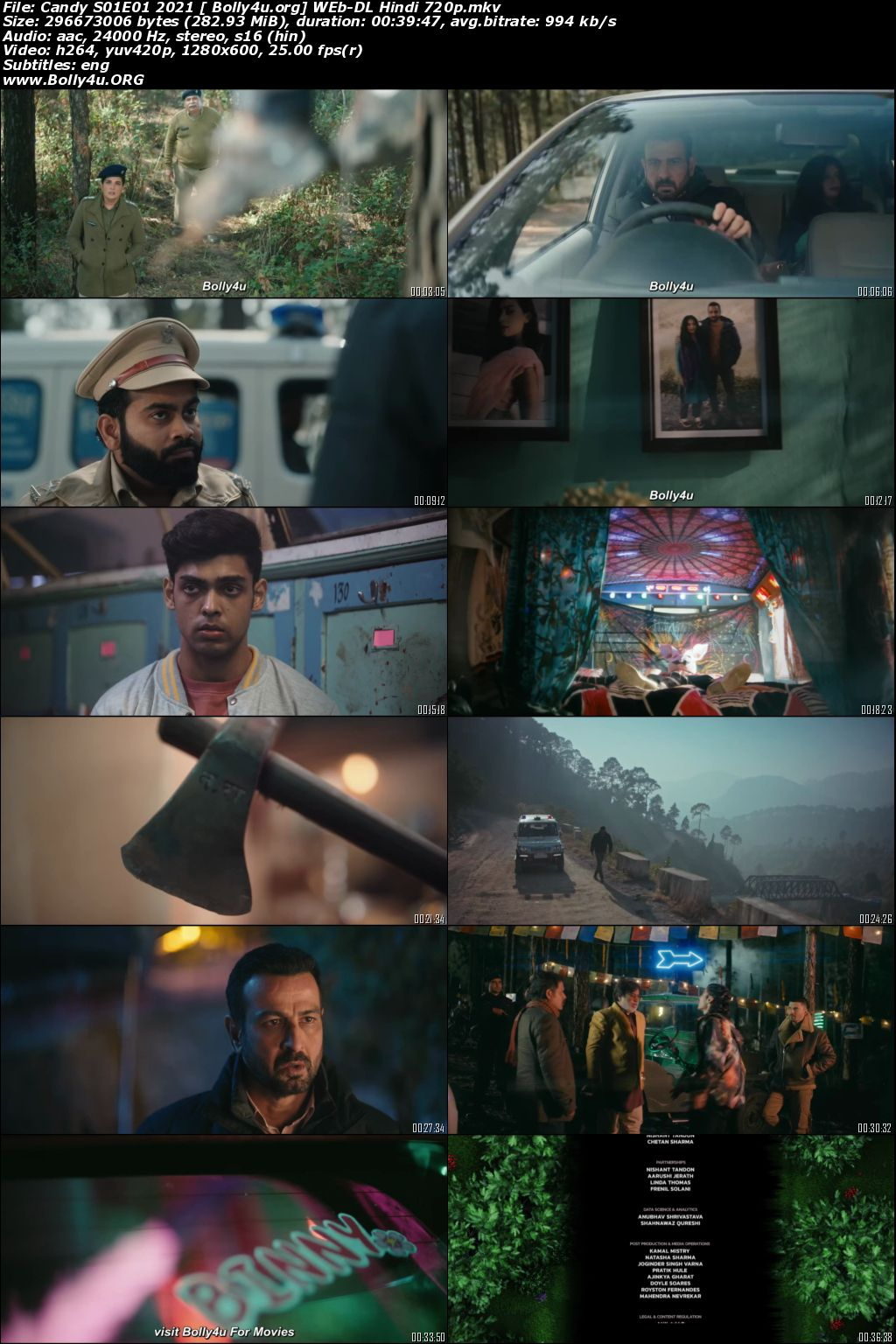 Candy 2021 WEB-DL 2.1GB Hindi S01 Download 720p