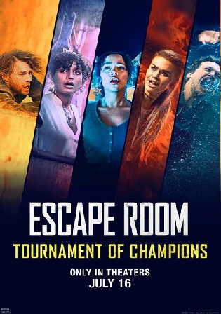 Escape Room Tournament of Champions 2021 WEB-DL 850MB English 720p ESubs Watch Online Full Movie Download bolly4u