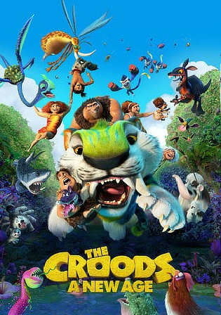 The Croods A New Age 2020 BuRay 300Mb Hindi CAM Dual Audio 480p