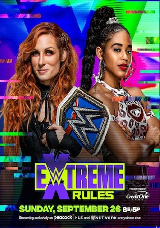 WWE Extreme Rules 2021 WEBRip PPV 480p 800Mb
