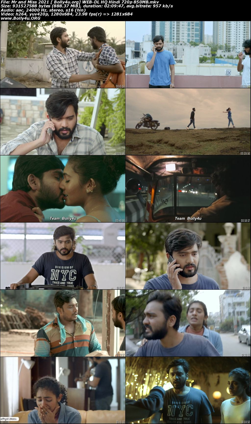 Mr and Miss 2021 WEB-DL 850MB Hindi Dubbed HQ 720p Download
