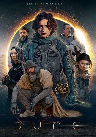 Dune 2021 WEB-DL 500MB Hindi CAM Cleaned Dual Audio 480p